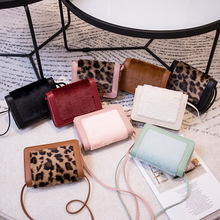 Autumn and Winter New ri han feng Rabbit Small Package Leopard Print One-Shoulder Bag Messenger Mini Phone Change Small Bag summer on new small bag woman package 2019 new pattern han banchao single shoulder satchel fashion concise joker fairy package