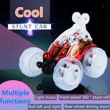 Машинка багги для трюков с дистанционным управлением и подсветкой