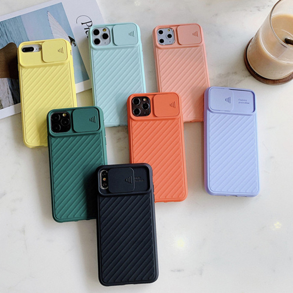 Phone Case For Apple iPhone 11 Pro Max For i 6 6S 7 8 Plus X XS XR Max Case Soft TPU i6 i6s Camera Cover Protective Luxury Cases image