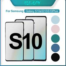 Дигитайзер сенсорного экрана Ori AMOLED в сборе, для Samsung Galaxy S10 S10e Plus