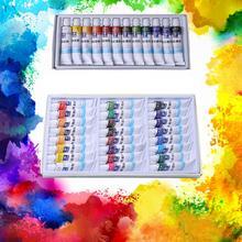 Watercolor-Pigment-Set Paint-Tubes Art-Supplies Drawing-Painting 1set Professional 12/24-Colors