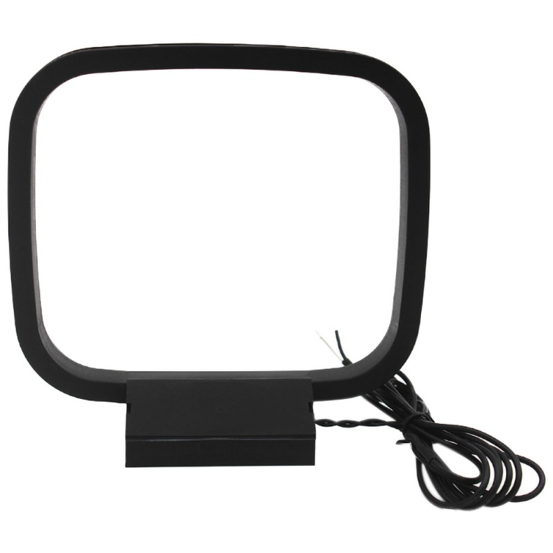Mini Universal FM/AM Loop Antenna For Sony HiFi Series For Analog And Digital Audio With Folding Base