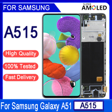 """6.5""""Original AMOLED For Galaxy A51 LCD A515 A515F A515F/DS A515FD Display Touch Screen Digitizer Sensor Assembly  Replacement"""