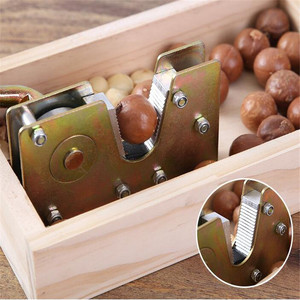 Image 3 - Manual macadamia nut opener nut cracker machine Walnut Nutcracker nut sheller tool Kitchen Accessories