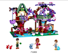 10414 507Pcs Elves Treetop Hideaway Emily Jones Building Bricks Model Building Kits Toy bela 83pcs elves fairy emily jones