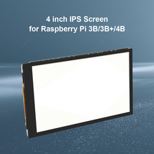 4.0 inch Display Capacitive Touch Screen Support IPS 800 X 480 Capacitive LCD Display Holder for Raspberry Pi