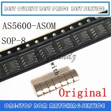 5 قطعة ~ 20 قطعة AS5600 AS5600 ASOM SOP 8 المغناطيسي التشفير مع المغناطيس الأصلي أصيلة والجديدة في المخزون شحن مجاني IC