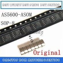 5 pçs 20 20 peças as5600 AS5600 ASOM sop 8 codificador magnético com ímã original autêntico e novo em estoque frete grátis ic