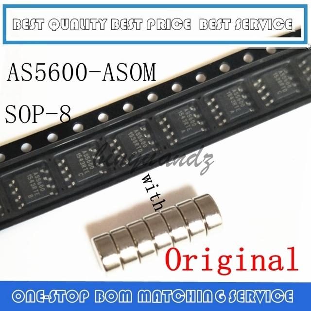 5 pièces ~ 20 pièces AS5600 AS5600 ASOM SOP 8 encodeur magnétique avec aimant Original authentique et nouveau en stock livraison gratuite IC