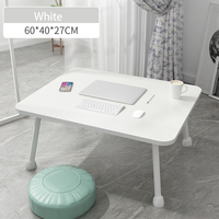 Wooden Portable Folding Adjustable Foldable Laptop Table Multipurpose Sofa Bed Trays Students Dormitory Laptop Table Desk Stand|Laptop Desks|   -