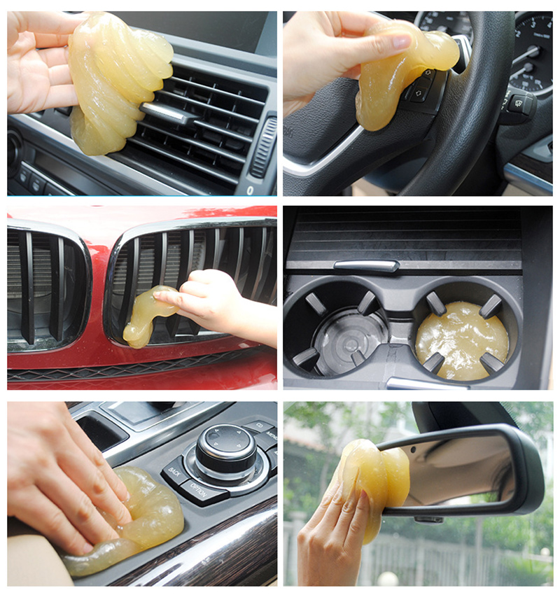 Image 3 - Car Styling Car Clean Glue Gel Stickers for opel astra j nissan micra alfa romeo giulietta mercedes w204 4x4 peugeot 206 suzuki-in Car Tax Disc Holders from Automobiles & Motorcycles