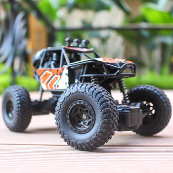 4WD RC Cars 2019 Updated Version 2.4G Radio Control Bigfoot RC Car Buggy High Speed Climbing Off-Road Trucks Toys Children Gift 1 12 4wd rc car updated version 2 4g radio control rc car toys remote control car trucks off road trucks boys toys for children