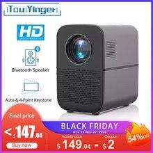 TouYinger T7 T7K T7W HD LED בית מקרן Bluetooth, 1280x720 תמיכה מלא HD וידאו USB מקרן לקולנוע, 4000 lumens אנדרואיד אופציונלי