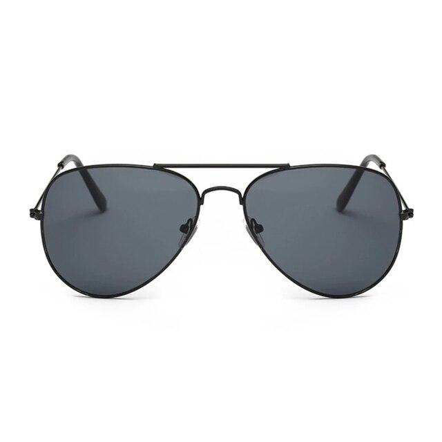 Фото солнцезащитные очки авиаторы женские/мужские классические авиационные