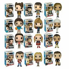 Anime Pop Friends Model Phoebe Joey Ross Geller with Box Action Toy Figures Collectible Model Christmas Toy for Children