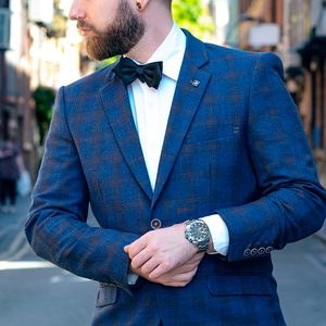 Image 4 - Megir 高品質メンズクロノグラフ腕時計のためのブルーステンレス鋼 Bracelete スポーツ腕時計ボーイのストップウォッチ