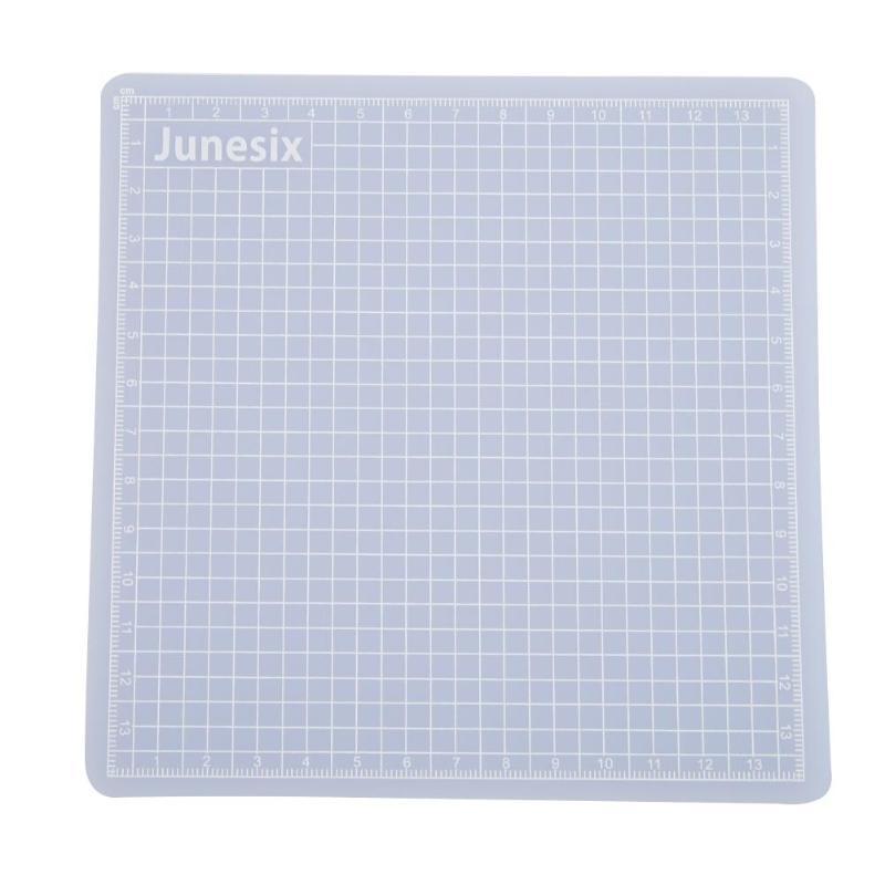 Transparent PVC Cutting Mat Protect Blades Measuring Grid Cut Board Drawing Pad (10*15cm) Non-slip Cutting Board 2019