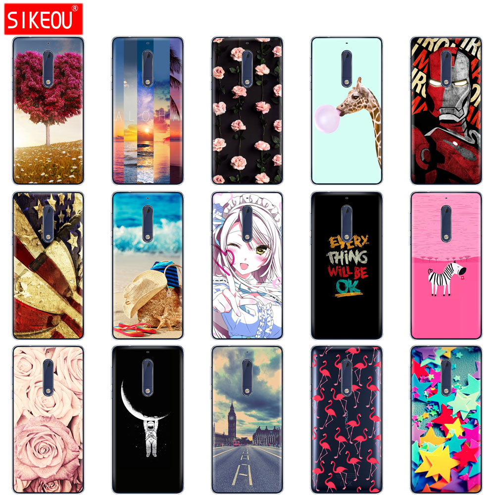 Silicon case for Nokia 5 3 6 7 8 9 2017 nokia 6 2018 6.1 3.1 2.1 5.1 case soft tpu phone back cover <font><b>TA</b></font> <font><b>1053</b></font> 1024 1008 phone bag image