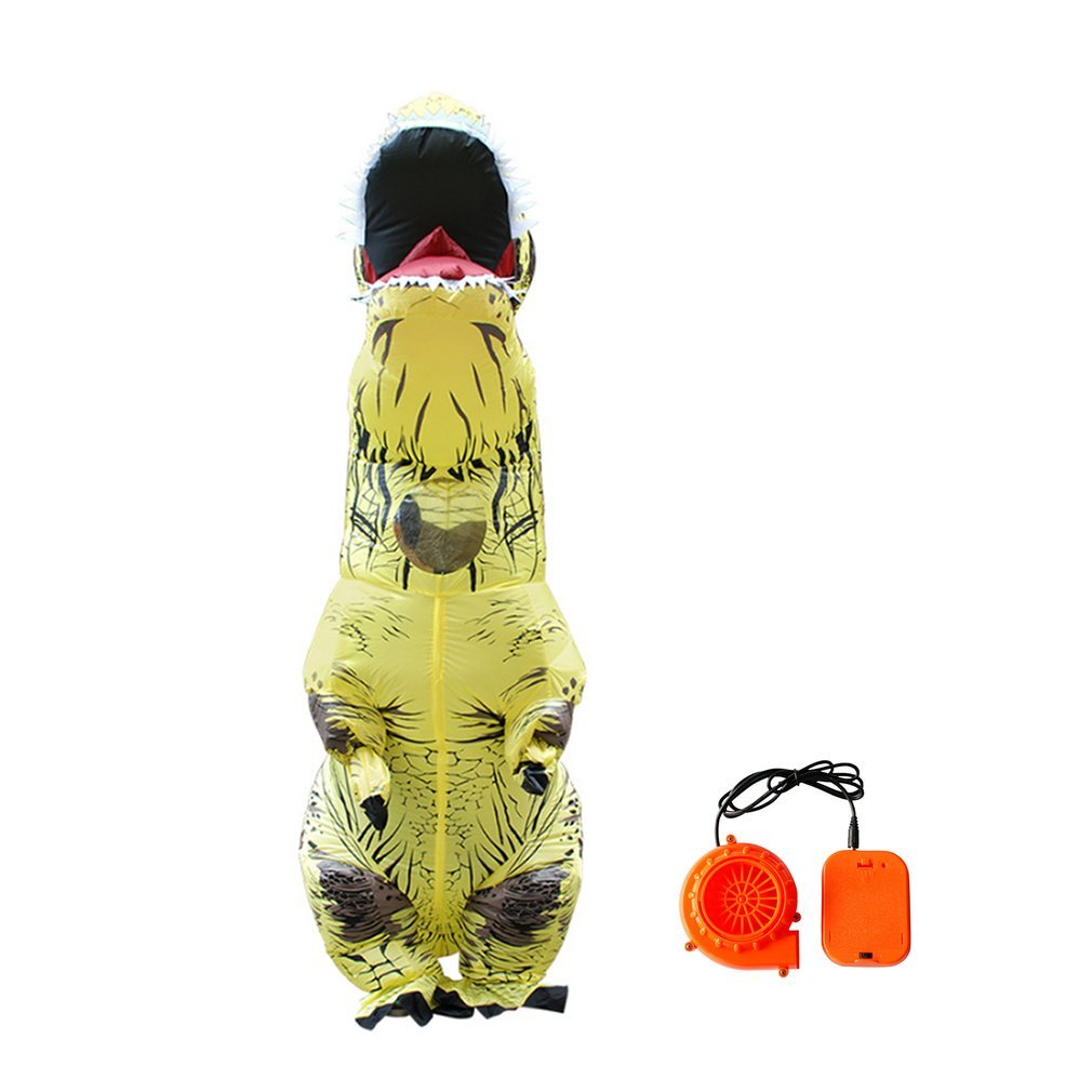 Lovely Cute Design Inflatable Animal Dinosaur Costumes Funny Halloween Party Cosplay Blowup Costume For Audult