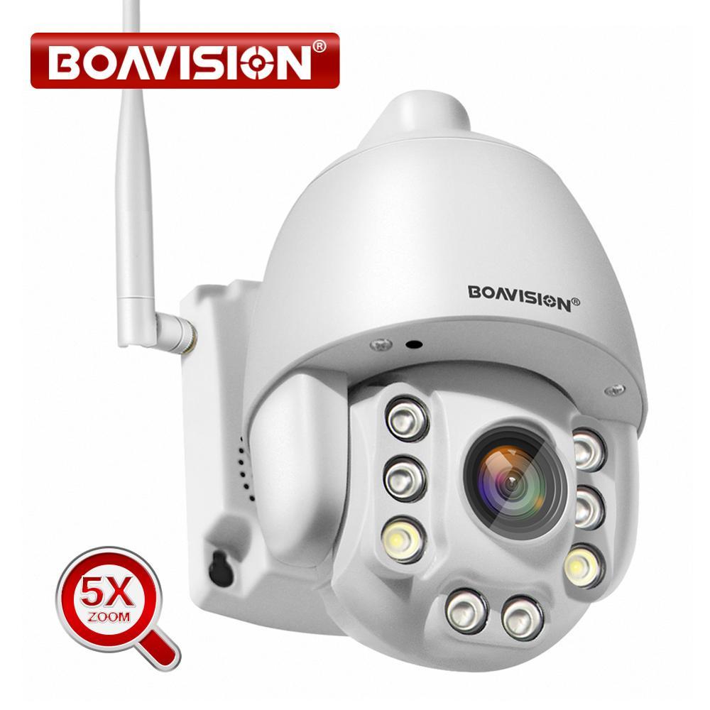 5X Zoom optique sans fil PTZ IP caméra Wifi 1080P 5MP deux voies Audio Surveillance vidéo extérieure caméra de sécurité à domicile P2P CamHi