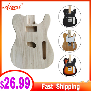 Unfinished Electric Guitar Body for TL Style DIY Electric Guitar Body Parts electric guitars china custom musical shop tl guitar red color new style for beginners free shipping