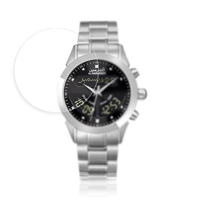 נגד הלם TPU מגן סרט עבור שעון מסך מגן להגן על סרטי עבור Alfajr Harameen אזאן זמן WY 16 WA 10 100 חתיכות
