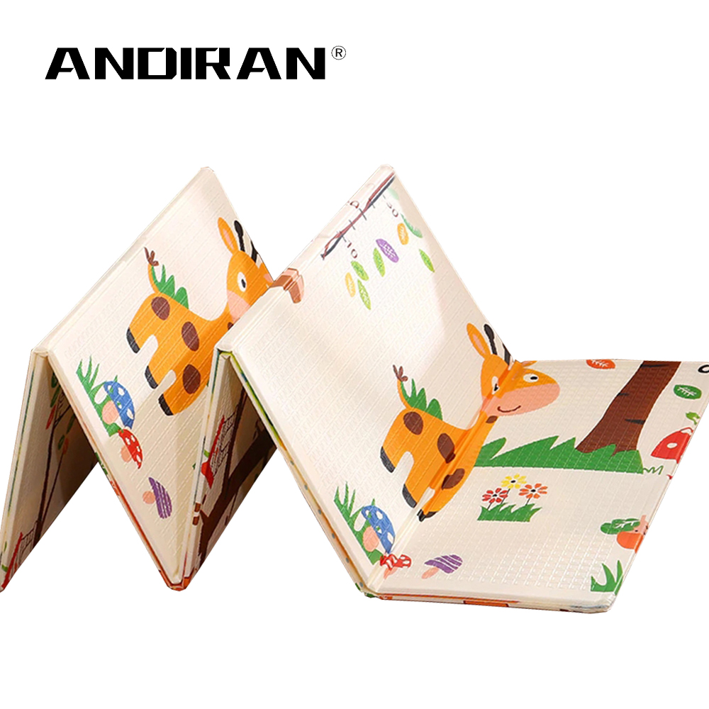 Foldable Baby Play Mat Folding Crawling Pad XPE Baby Room Carpet Children Floor Mat 200*150cm