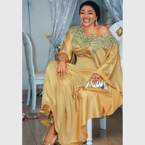Image 1 - שמלות אפריקאיות נשים דאשיקי ארוך מקסי שמלת 2020 קיץ בתוספת גודל שמלת גבירותיי מסורתית בגדים אפריקאים פיות Dreess