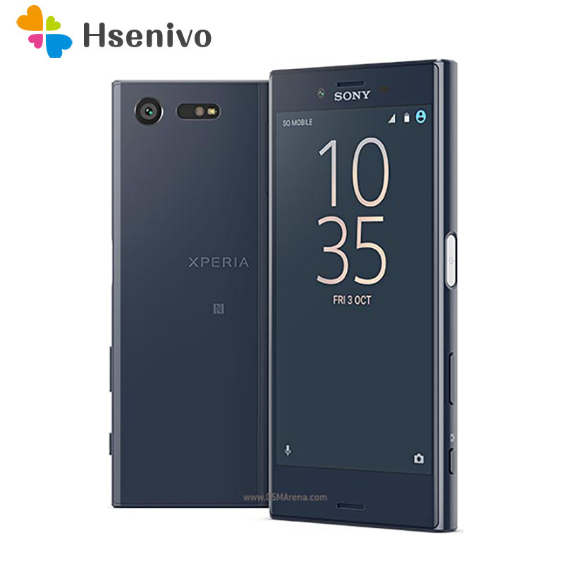 Original Unlocked Sony Xperia X Compact F5321 Mini GSM 4.6 4G 3GB RAM 32GB ROM Android Smartphone WIFI 23MP Camera without NFC image