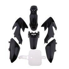Kit de protection de carrosserie de moto   Garde-boue/garde-boue pour Honda 50 CRF50 50/110/120/125CC accessoires de moto pour Pit Bike 1 ensemble