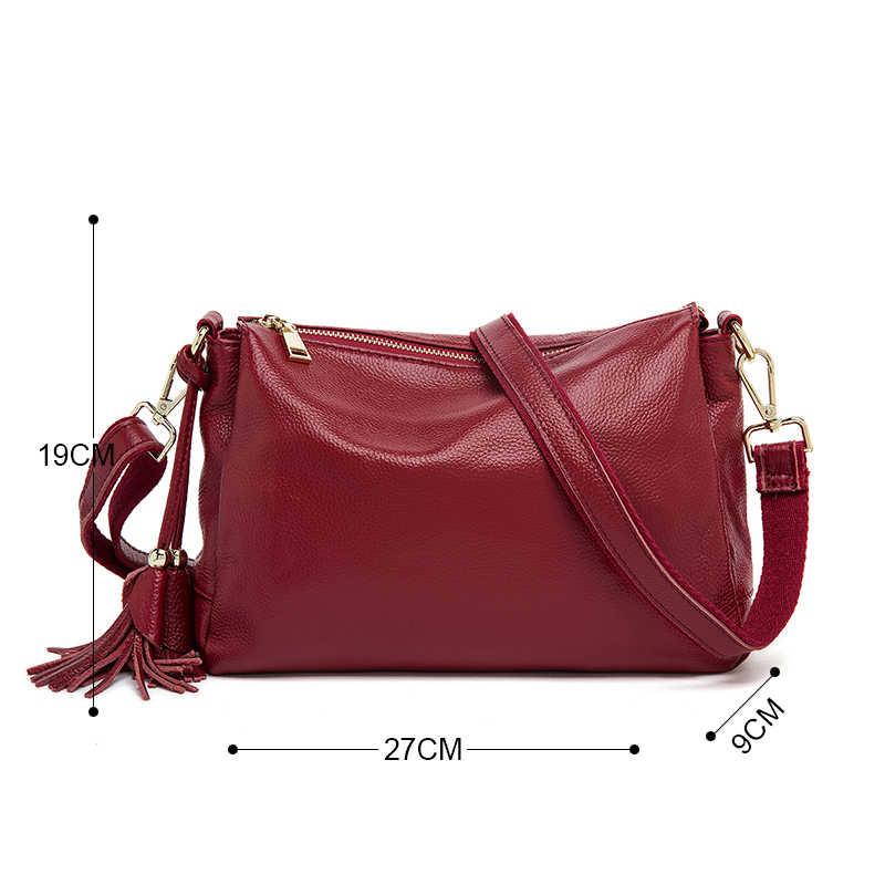 Pequena bolsa qiwang preto crossbody sacos para as mulheres de luxo bolsa ombro embreagem saco do mensageiro couro genuíno senhora embreagem