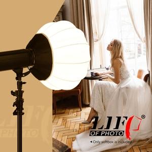 Image 5 - Życie fotografii latarnia styl składany Softbox oświetlenie modyfikatory okrągły kształt miękkie pudełko dla Studio Speedlite światło stroboskopowe światło