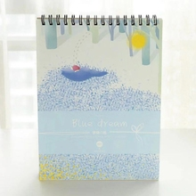 50Sheets A4 Paper Watercolor Sketch Book Notepad Painting Drawing Diary Notebook C90C
