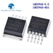 10 unids/lote LM2596S-5.0 LM2596S-ADJ LM2596S LM2596-2596 a-263 en Stock