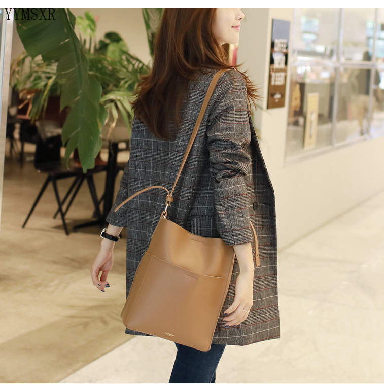 5XL Women's mid-length jacket small suit feminine 2020 Korean version of the new autumn and winter women's blazer high quality