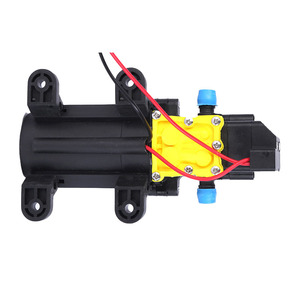 Image 2 - High Quality DC12V 6L/min Intelligence Micro High Pressure Diaphragm Water Sprayer Car Wash Agricultural Electric Water Pump
