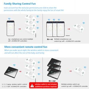 Image 5 - Smatrul チュウヤスマートライフアプリ wifi + rf 433 mhz diy リレータイマーモジュール google ホーム amazon alexa 110 v 220 v 10A スイッチライトファン