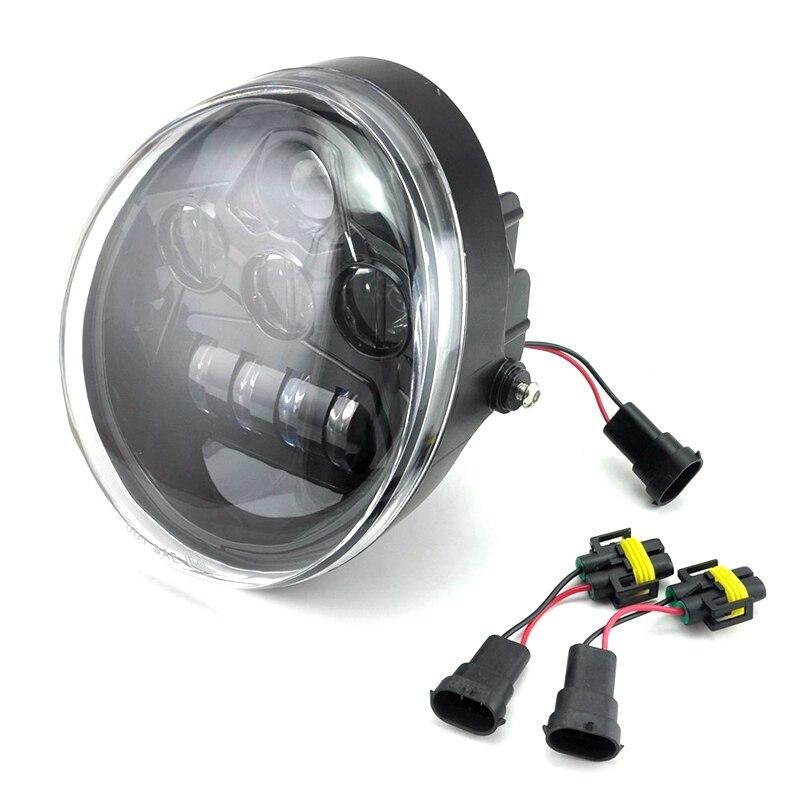 Czarny Led reflektor dla v-rod mięśni noc pręt LED reflektor motocyklowy z DRL halo kierunkowskaz koloru bursztynowego światło dla V Rod VRSCA VRSC