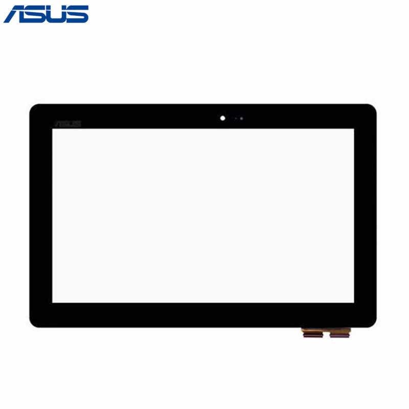 الأصلي Asus محول كتاب T100TAF الأسود محول الأرقام بشاشة تعمل بلمس زجاج عدسة الاستشعار إصلاح أجزاء ل Asus T100TAF لوحة اللمس