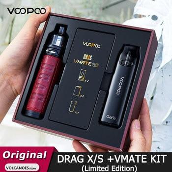 VOOPOO – DRAG X / DRAG S et VMATE Pod, édition limitée, cartouche de 4.5ml, vaporisateur Vm5, boîte cadeau pour Cigarette électronique
