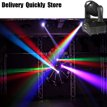 Good Effect RGBW 4 IN 1 10W Beam Mini LED Moving Head Lighting LED Disco Light Good For Home Party DJ Disco Wedding Decoration 2pcs lot 4 in 1 led bar 7 10w moving head light rgbw 7 leds disco wash nightclub rainbow effect projector for wedding show