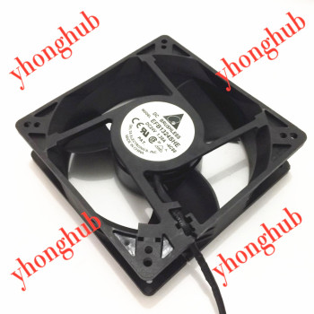Delta Electronics EFB1324SHE 4C58 DC 24V 1.38A 3-wire 127x127x38mm Server Cooling Fan free shipping for delta ffb1248ehe 4b77 dc 48v 0 75a 120x120x38mm 3 wire 80mm server square cooling fan