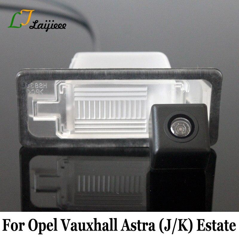 For Opel Vauxhall Astra J K Estate 2010–Present Auto Reverse Camera / Car Backup Parking Camera For Holen Astra BK Wagon 2017~Pr
