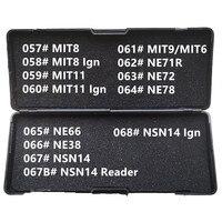 57 68 LiShi 2 in 1 MIT8 MIT11 MIT9 MIT6 NE71R NE72 NE78 NE66 NE38 NSN14 reader Schlosser Werkzeuge für Alle Arten-in Autoschlüssel aus Kraftfahrzeuge und Motorräder bei