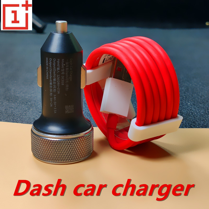 Car Charger Onplus fast charger 5V 3.5A Dash quick Charging Type C cable for One Plus 7 6T 5T 1+5 A5000 One Plus 3T 1+3T