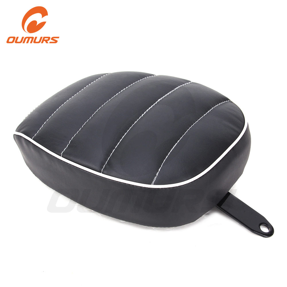 OUMURS Motorcycle Pillion Pad Seat Rear Passenger For Harley Sportster XL1200 XL883 Forty Eight Seventy Two Iron 883 2010-2016