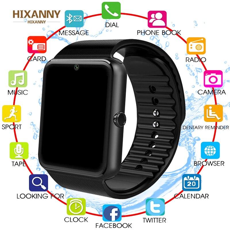 Смарт часы Relógio Inteligente GT08 Z60 Das Mulheres Dos Homens De Pulso do Bluetooth Smartwatch SIM Suporte/Tf DZ09 Telefone Relógio de Pulso Para Android Apple