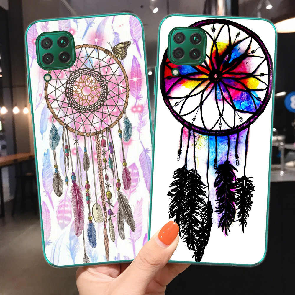 Phone Case For Coque Huawei P30 Lite Cover For Huawei Honor 10 20 Lite Pro 10i 8C 8X 9X Pro Soft TPU Fundas Dreamcatcher Shell