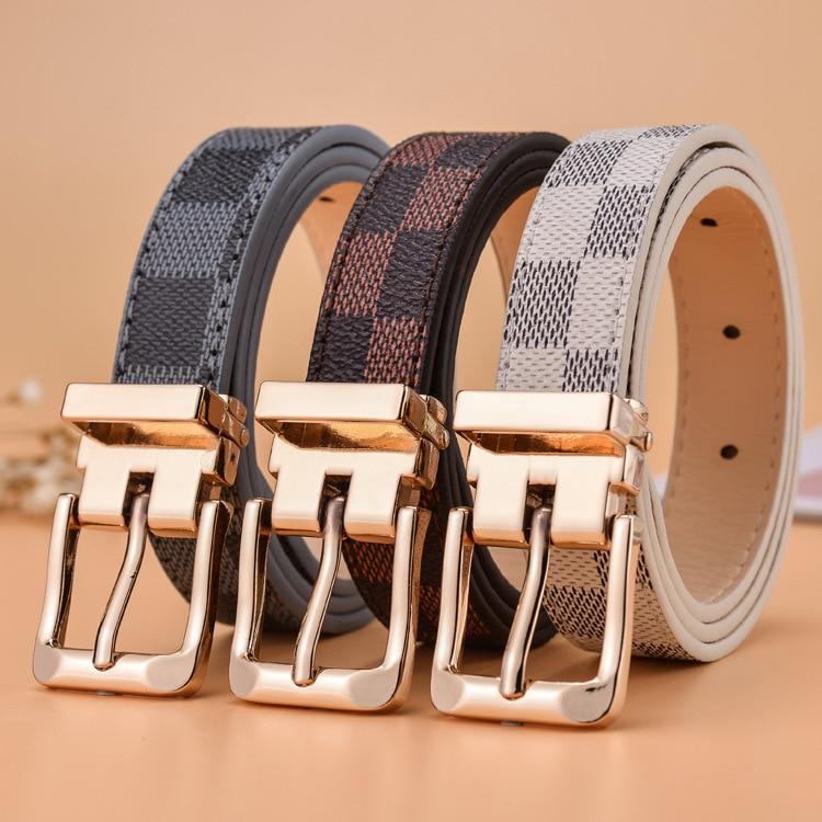 Kid Boy Belts Children's Belt Boys Girls Big And Middle School Students Belt School Military Training Belts Luxury Fashion
