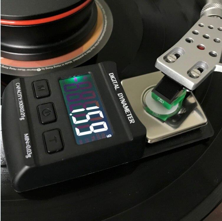 Balance de force de stylet de platine vinyle numérique